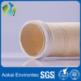 Nonwoven мешки пылевого фильтра Nomex войлока иглы