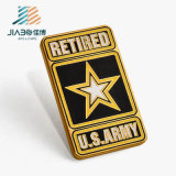 Oro che antico in lega di zinco su ordinazione polizia militare del metallo dell'esercito americano Badge