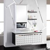 Roch 8004 Bathroom Cabinet Vanity europeo Solid Wood Cabinet con High Glossy Varnish