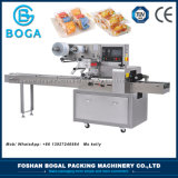 Máquina fácil del envasado de alimentos de la empaquetadora del flujo de los pasteles de la operación pequeña