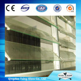 4-8mm ясное/покрасили/замороженное жалюзиий /Ultra ясное стеклянное для окна здания