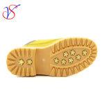 Le travail de fonctionnement de sûreté d'injection d'enfants de gosses ajusté par famille amorce des chaussures pour la fonction extérieure (SVWK-1609-040 LE TAN)