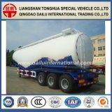 60cbm 반 대량 시멘트 분말 물자 수송 유조 트럭 트레일러