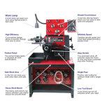 De Machine van de Draaibank van het Knipsel van de Schijf van de Remtrommel (C9372)
