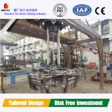 Machines concrètes de brique pour l'usine de brique