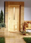 Portello di legno con l'alta qualità per l'appartamento della villa