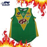 Venta caliente Custom sublima la parte superior de baloncesto