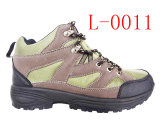 Горячее Sale Hiking Boots с PVC Injection Outsole (L-0011)