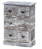 Gabinete de madeira colorido moderno Hobby elegante