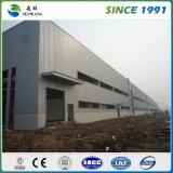 Construction neuve d'atelier d'entrepôt de structure métallique de modèle à vendre