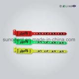 Wristband dei braccialetti di identificazione del paziente ricoverato