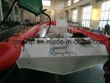 Barco inflável de borracha inflável de alumínio de modelo novo