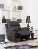 إيطاليا جلد يثبت أريكة يدويّة عمل أثاث لازم لأنّ يعيش غرفة
