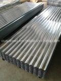 Aufbauende galvanisierte Alu-Zink Eisen-gewölbte Stahlblech-Dach-Fliesen (0.13-1.5mm)