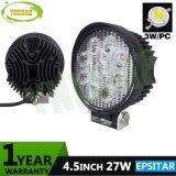 punto di 4.5inch 27W/indicatore luminoso del lavoro fascio LED dell'inondazione per la jeep 4X4