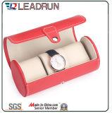Hölzerne Uhr-verpackenkasten-Samt-ledernes Papier-Uhr-Speicher-Fall-Uhr-Verpackungs-Geschenk-Bildschirmanzeige-Verpackungs-Kasten (YS196B)