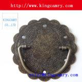 Il contenitore di monili del perno & di maniglia trasporta la maniglia di legno del contenitore di sigaro della maniglia