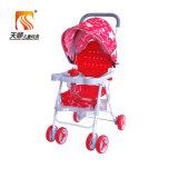 Il passeggiatore di plastica del bambino di migliore qualità con la parte girevole spinge all'ingrosso