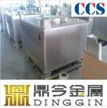 Un/ISO9001証明書が付いているSs316L 1000L IBCの戦闘状況表示板タンク