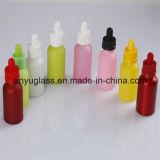 bottiglie di vetro dell'olio essenziale 5ml-100ml con colore differente