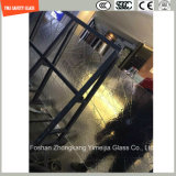 호텔 & 가정 문 Windows 또는 샤워 또는 분할을%s 4-19mm 안전 건축 유리, 최신 녹는 장식무늬가 든 유리 제품 또는 SGCC/Ce&CCC&ISO 증명서를 가진 담