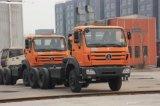 De Vrachtwagen van de Tractor van Beiben 6X4 voor de Markt van de Kongo Tanzania