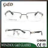 Último diseño Metal Popular Marco óptica anteojos anteojos
