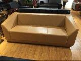 Il sofà di alta qualità del cuoio genuino imposta i sofà commerciali (FOH-8013)