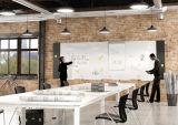 Tablero de escritura magnético Boletín Uispair oficina moderna decoración de la pared de cristal Color Blanco