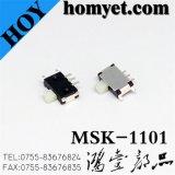 De 7 pinos para interruptor deslizante miniatura SMD LED (MSK-1101)
