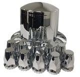 Del bicromato di potassio coperchio Nuts Rear Axle del mozzo del camion semi & di rotella dell'aletta dei coperchi 33mm della noce dell'aletta