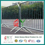 Rete fissa provvisoria intermedia di controllo di folla della barriera della folla della rete fissa del tubo