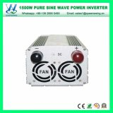 1500W 12/24Vの純粋な正弦波力インバーター(QW-P1500)