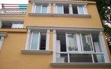 Hermético/insonoro/Calor-Aislar la ventana de desplazamiento del PVC con el vidrio de la doble vidriera para la casa residencial