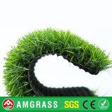 自然な一見の人工的な草、高品質の庭の合成物質の泥炭