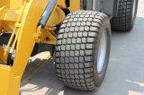 Carregador novo da roda 1ton do lobo com pneus os mais largos
