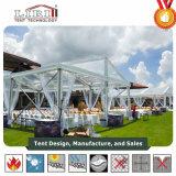 Liri Alumínio retângulo grande tenda para festas de casamento