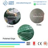 12mm 1/2 Niedriges-e freies niedriges Eisen abgehärtetes Sicherheits-ausgeglichenes Glas für Dusche-Tür