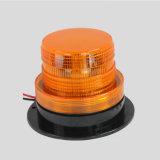 Montaje en superficie de 10-110V 5W de color ámbar Testigo estroboscópica LED baliza con base magnética
