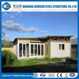 カスタムプレハブの鉄骨構造の容器の家