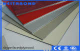 Panneau composé en plastique en aluminium d'approvisionnement d'usine pour le revêtement