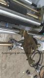 Мнущее вырезывание Machinw ярлыка втулки PVC с блоком прокалывания