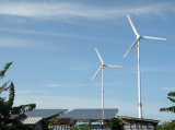 태양 Wind Hybrid Power System 20kw Generator