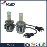 Auto High Power COB Car LED Headlight Kit V8 H4