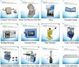 Ligne de laboratoire de batterie d'ion de Li pour la cellule de pièce de monnaie \ cellule de cylindre \ cellule de poche et la cellule etc. d'EV