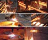 Machine de découpage d'acier du carbone de flamme d'hydrogène d'Oxy/acier doux