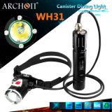 Batterie-Tauchens-Kanister LED des Archon-26650 Torches wasserdichtes IP68 Wh31