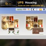 La construction préfabriquée économique d'installation facile renferme le coût avec à trois chambres