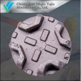 Più nuovo pezzo fuso di sabbia personalizzato del ghisa grigio dell'OEM dalla fonderia cinese