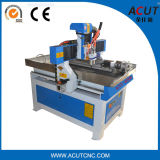 машина маршрутизатора CNC маршрутизатора CNC оси 3D 4 деревянная высекая